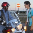 Motocycle scene 49 send